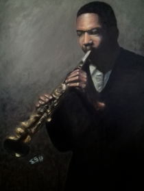 Jazz Man Coltrane